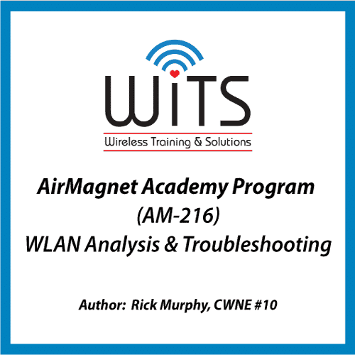 AM-216 WLAN Analysis & Troubleshooting Training course